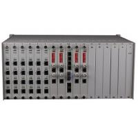 Buy cheap rack mount 256 Phone over fiber Optical Multiplexer 16 slots for voice E1 card from wholesalers