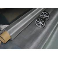 Buy cheap Weave Technique Stainless Steel Woven Wire Mesh 230 Mesh 62 Micron Acid Resistant from wholesalers