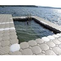 Buy cheap HDPE Floating Swimming Pool for Water Sport and Leisure from wholesalers