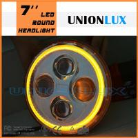 Buy cheap Super bright Jeep 7'' led headlight with H/L beam from wholesalers