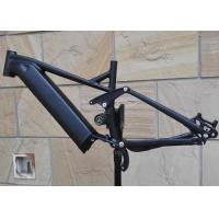 Buy cheap Shimano E8000 Full Suspension Ebike Frame Electric Aluminum Mountain Bike Mid-Drive from wholesalers