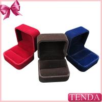 Buy cheap Handcrafted Jewelry Thumb Opal Vintage Keepsake Promise Red Black Velvet Ring Boxes from wholesalers