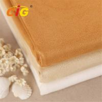 Buy cheap Abrasion - Resistant Upholstery 100% Polyester Suede Fabric for Car Seat / Shoes product