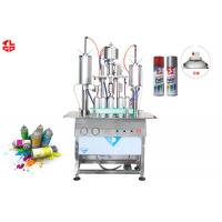 Buy cheap 450ml Aerosol Spray Paint Filling Machine from wholesalers
