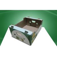 Buy cheap Water - ink Printing Corrugated Carton Boxes , Recyclable Paper Box for Shipment from wholesalers