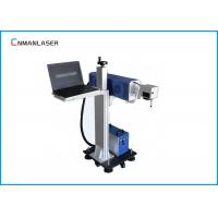 Buy cheap 20w Plastic  Industrial Flying CO2 Laser Marking Equipment With Conveyor Computer from wholesalers