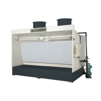 Buy cheap Water Washable 18000m3/H Furniture Spray Booth , 16m/S Retractable Paint Booth from wholesalers