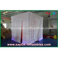 Buy cheap Indoor Inflatable Photo Booth Enclosure With Touch Screen Remote Control from wholesalers