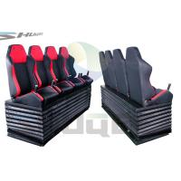Buy cheap Hydraulic / Pneumatic / Electromotive Control System 4D / 5D / 7D Motion Theater Chair product