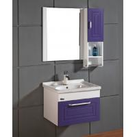 Buy cheap modern bathroom vanity combo with Quartz countertop from wholesalers