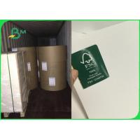 Buy cheap ISO FSC Certified 100 % Virgin Wood C1S Ivory Board Fold 300gsm Customized from wholesalers