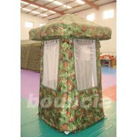 Buy cheap 0.6mm / 0.9mm PVC tarpaulinAirtight Tent TEN66 with PVC Coated Nylon Cover product