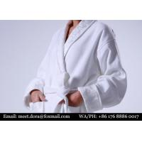 Buy cheap 100% Cotton Bathrobe White Terry Towelling Hotel Bathrobe For Sale from wholesalers