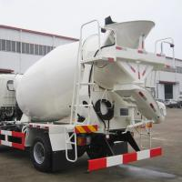 Buy cheap Durable portable diesel concrete mixer pump truck for convenient use from wholesalers