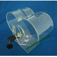 Buy cheap Heart Shape Lockable Acrylic Ballot Boxes from wholesalers