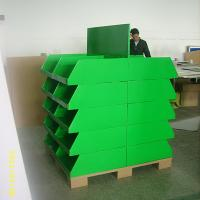 Buy cheap 20 trays Corrugated Retail Cardboard Pallet Display UV Coating for Exhibitor from wholesalers