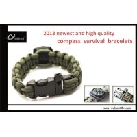 Buy cheap Survival Straps Paracord Survival Bracelet Multi-function Alloy Buckle from wholesalers