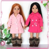 Buy cheap 18 inch Twins girl doll coat wholesale price from wholesalers