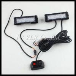 Buy cheap 4W 4 LED Red Waterproof Car Truck SecurityEmergency Strobe Flash Light flash Strobe lights from wholesalers