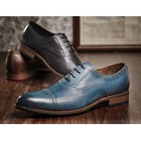 Buy cheap Durable 3cm Heel Mens Leather Dress Shoes , Party Wear Shoes For Mens from wholesalers