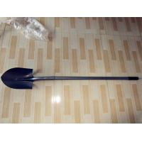 Buy cheap Sharp Spade Shovel(TCJ-01) with long steel handle and powder coated surface, hand garden tools from wholesalers