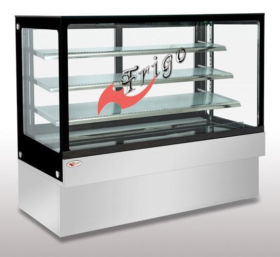 Ex Display Designer Kitchens For Sale Concept: Square Glass Cake Display Case Orchid LED Light Custom