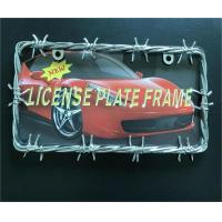 Buy cheap Car Tag Cover / Car License Plate Frame USA And Canadian Standard Size from wholesalers