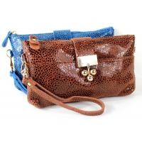 Buy cheap ladies dress accessories leopard leather clutches with cross-body 2014 style from wholesalers