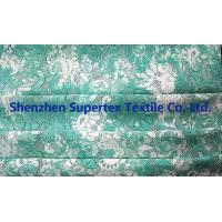 Buy cheap Garment Children'S Clothing Fabric Cotton Rayon Nylon Jacquard Pipa Flower Lace Tie dye Green Print from wholesalers
