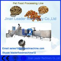 Buy cheap Single Phase Pet Food Processing Line 220V 50HZ For Bird / Dog from wholesalers
