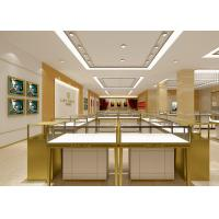 Buy cheap Pre - Assembly Structure Jewelry Display Fixtures 6000 Lumen / 4000 Kelvin Lights product