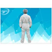 Buy cheap Fully CPE Film Breathable Disposable Coverall Suit / Disposable Plastic Body Suit from wholesalers