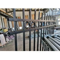 Buy cheap Square Post Spear Top 1030mm Height Tubular Steel Fence from wholesalers