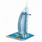 Buy cheap Dubai Burj Al Arab Hotel DIY Toy, 3D Puzzle, Building Blocks from wholesalers
