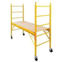 Buy cheap Hot Sale High quality 6 Foot Steel Bakers Rolling scaffold in Yellow from wholesalers