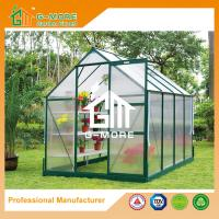 Buy cheap Multifunctional Green Color Aluminum PC Greenhouse - 286x216x220CM from wholesalers