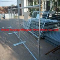 Buy cheap Easy portable cheap vinyl lattice fence/hot-dip galvanized temporary fence from wholesalers