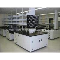 Buy cheap Biology Laboratory Working Table , Lab Desk Furniture High Strength Steel Frame from wholesalers