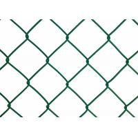 Buy cheap Commercial Grounds Chain Link Fence Mesh 15 - 30 M Roll Width from wholesalers