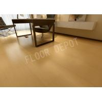 Buy cheap 8mm Wood Luxury Laminate Flooring E1 Waxed Birch Color Embossed Stable from wholesalers
