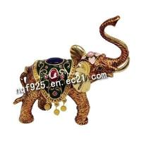 Buy cheap Elephant Metal Jewelry Boxes(QF2884) from wholesalers