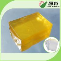 Buy cheap Synthetic polymer resin Medical Dressing Tape Pressure Sensitive Hot Melt Glue Yellow Transparent Color from wholesalers