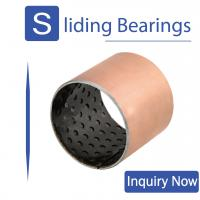 Buy cheap ISO 9001 Dry Self Lubricating Bearings , Pom Bushing For Mining Machinery from wholesalers