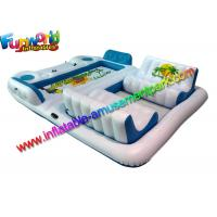 Buy cheap Giant 6 Person Inflatable Raft Pool / Inflatable Pool Floats for Adults from wholesalers