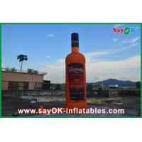 Buy cheap Oxford Cloth Custom Inflatable Products , 5m Inflatable Wine Bottle from wholesalers