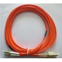 High Precision Fiber Optic Patch Cord Multimode Duplex SC-LC