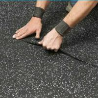 Buy cheap Heat resistant sound insulation 1-12mm thick rubber floor roll rubber mat from wholesalers