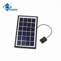 Buy cheap 3 Watt Solar Photovoltaic Panels Max Current 0.51A ZW-3W-6V-1 mini home solar from wholesalers