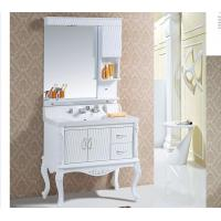 Buy cheap Modern 18mm / 15mm PVC bathroom cabinet 100 X 52 X 85 / cm Soft closing system from wholesalers