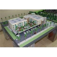Buy cheap Amercial Long Beach Garden Architectural Model Making , 3d miniature building model from wholesalers